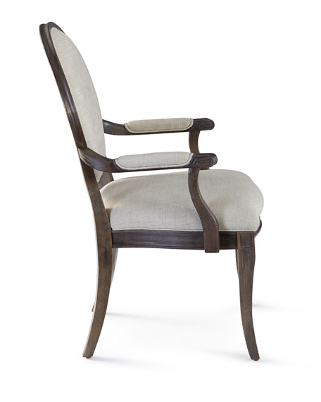 Mayfield Dining Armchairs, Pair