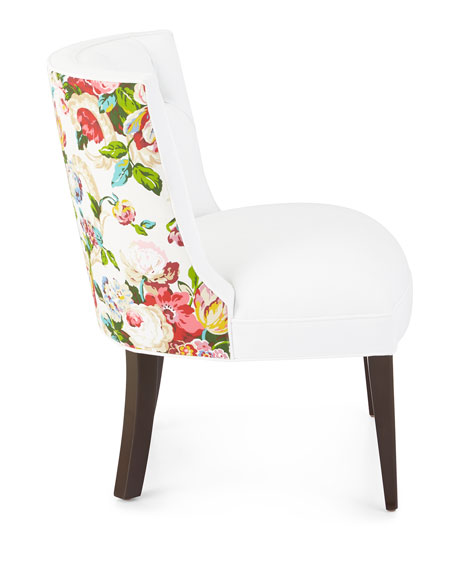 Image 5 of 6: Haute House Tiffany Floral Chair