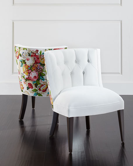 Image 1 of 6: Haute House Tiffany Floral Chair