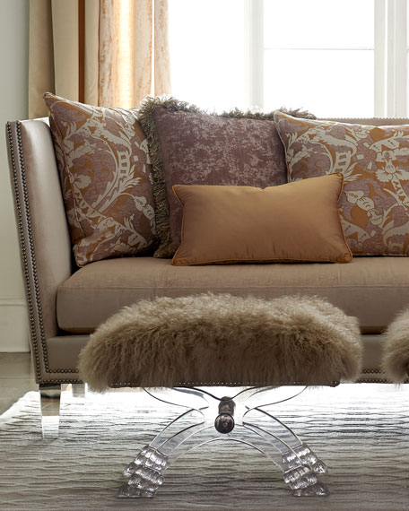 Image 3 of 4: Massoud Lydia Rose Sofa