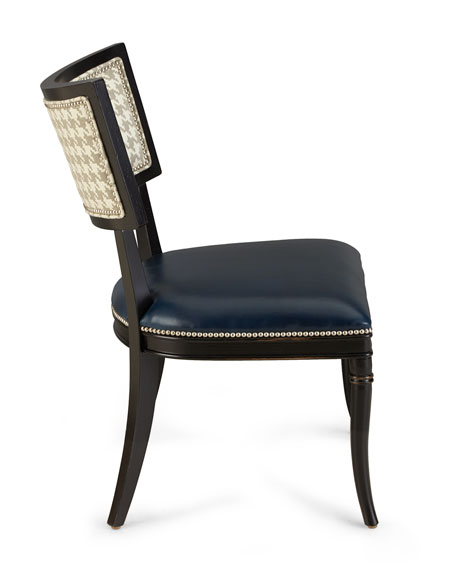 Saylor Houndstooth Side Chair