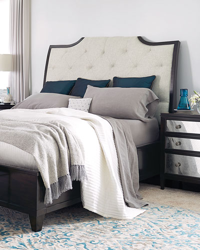 Sutton House Tufted Queen Bed