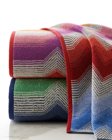 Missoni Stan Hand Towel: Missoni Home Selma Hand Towel