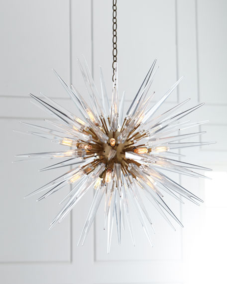 Visual Comfort Quincy Medium 20-Light Sputnik Pendant