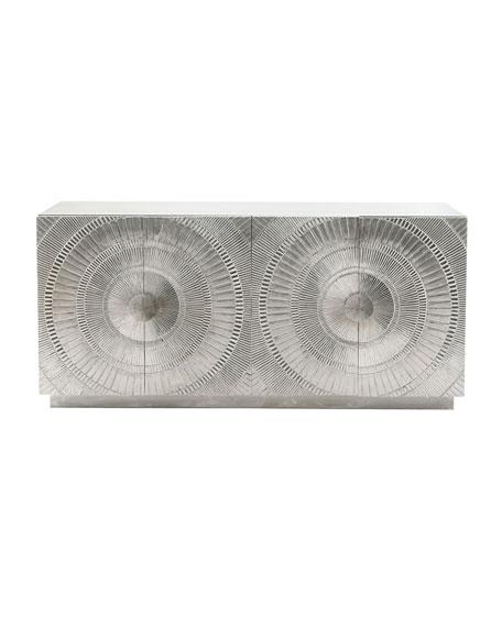 Bernhardt Libra Nickel-Plated Console