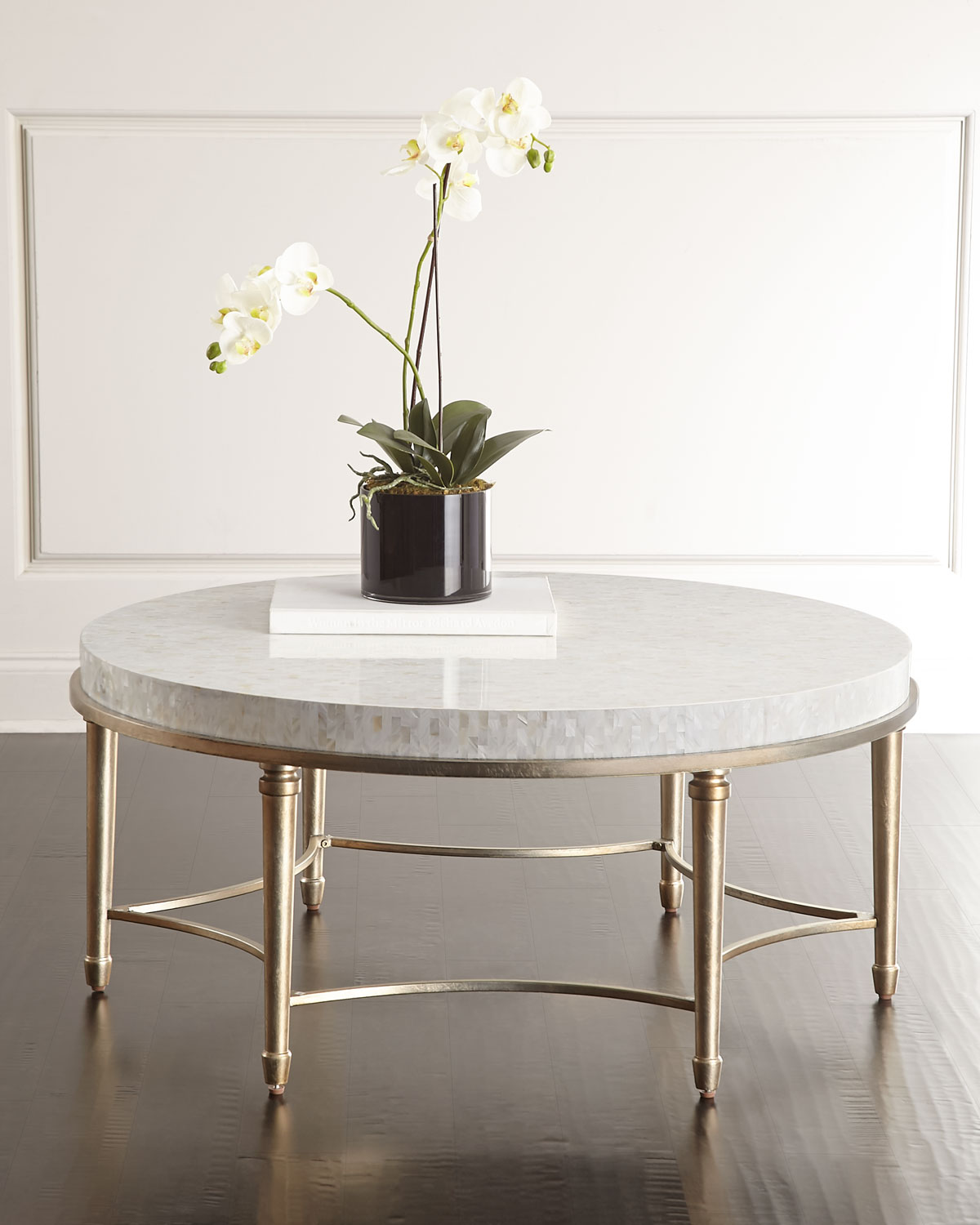 Cynthia Rowley For Furniture Aura Round Coffee Table
