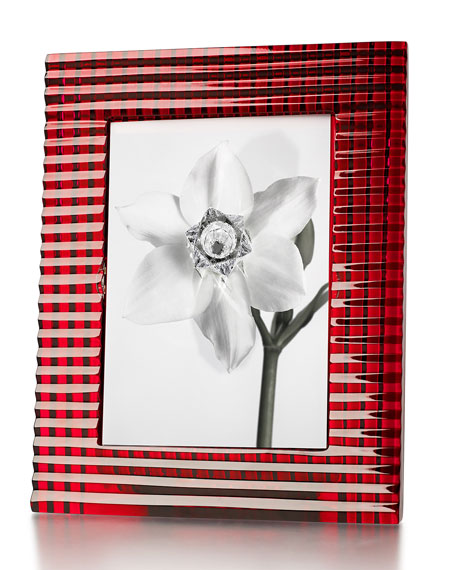 Baccarat Red Eye Picture Frame