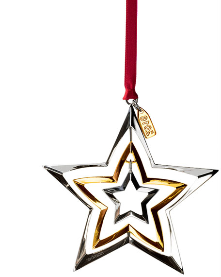 Nambe 2016 Annual Star Christmas Ornament