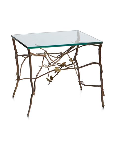 Butterfly Ginkgo Side Table