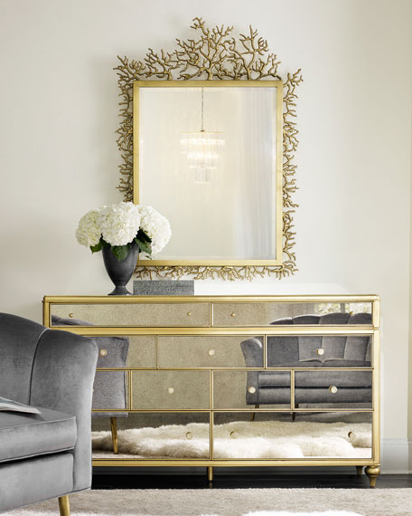 Cynthia Rowley for Hooker Furniture Bewitch Mirrored Dresser