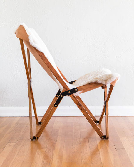 Dollie Sheepskin Chair