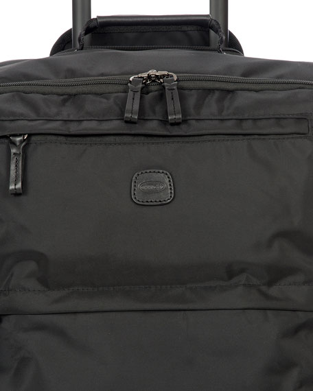 "Image 3 of 3: Bric's Black X-Bag 25"" Spinner Luggage"