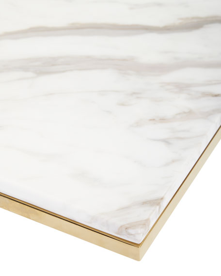 Marquis Marble End Table