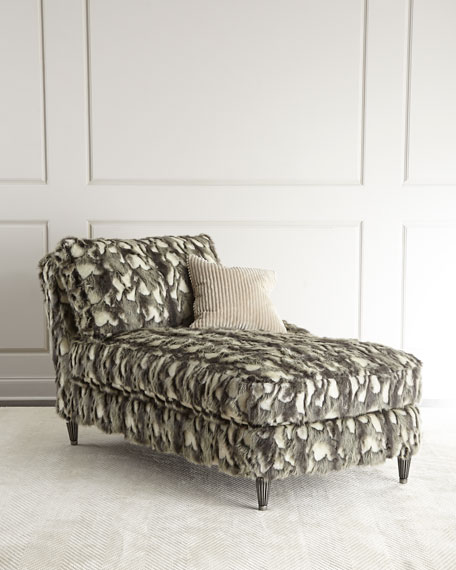 Old Hickory Tannery Nash Faux-Fur Left-Arm Chaise