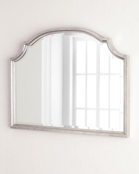 Silver-Leaf Horizontal Mirror
