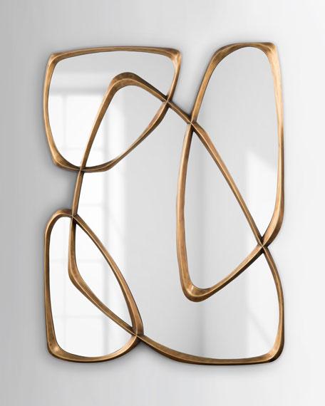 John-Richard Collection Asymmetrical Mirror