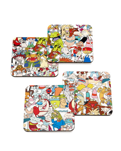 STORY Character Mash Up Coasters, Set of 4