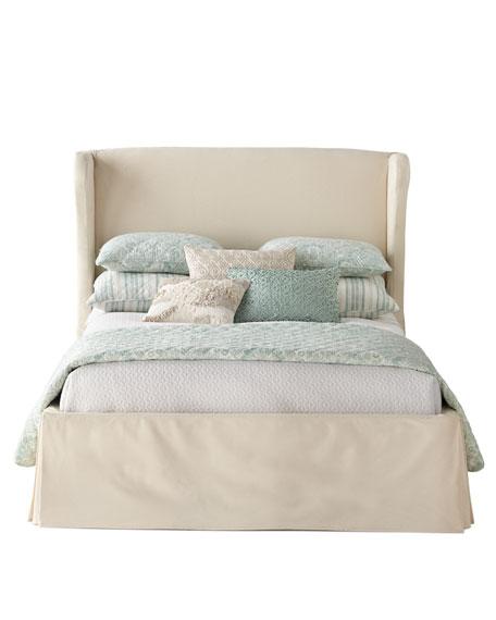 Castillo Queen Slipcover Bed
