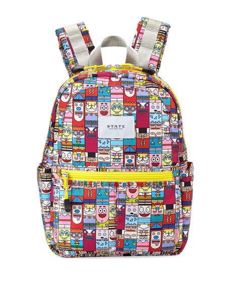 State Bags Kane Mash Up Mini Backpack