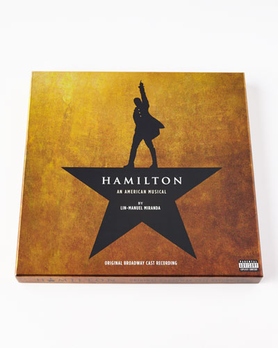 Hamilton Original Broadway Cast Recording on Vinyl