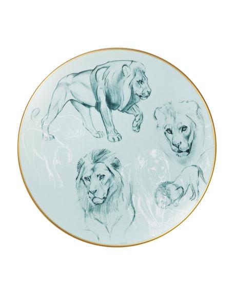Carnets d'Equateur Lions Salad Plate