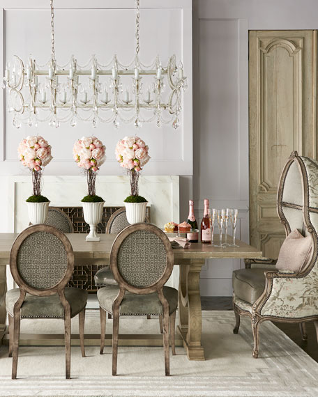 Bernhardt Campania Side Chairs, Set of 2