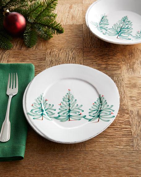 Lastra Holiday Salad Plate