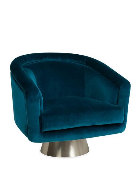 Jonathan Adler Bacharach Swivel Chair