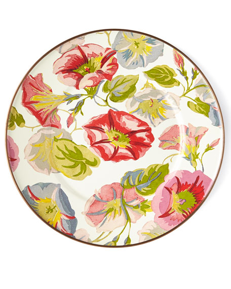 MacKenzie-Childs Morning Glory Salad/Dessert Plate