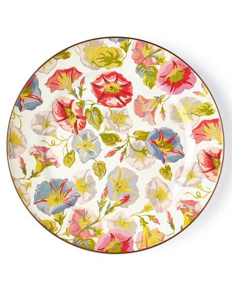 MacKenzie-Childs Morning Glory Charger Plate