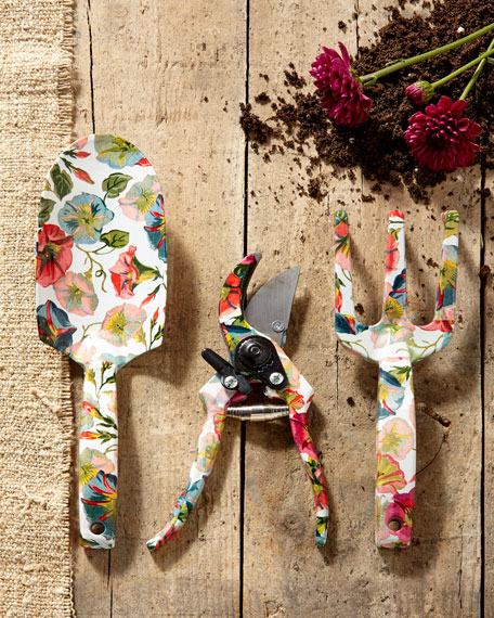 MacKenzie-Childs Morning Glory Gardening Tool Set