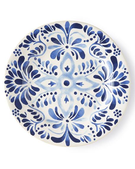 Iberian Indigo Dessert/Salad Plate