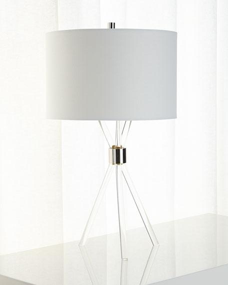 Acrylic Tripod Lamp
