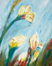 "RFA Fine Art ""Petal Bloom"" Original Painting"