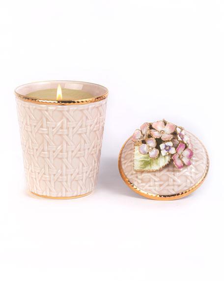 Hydrangea Trellis Candle