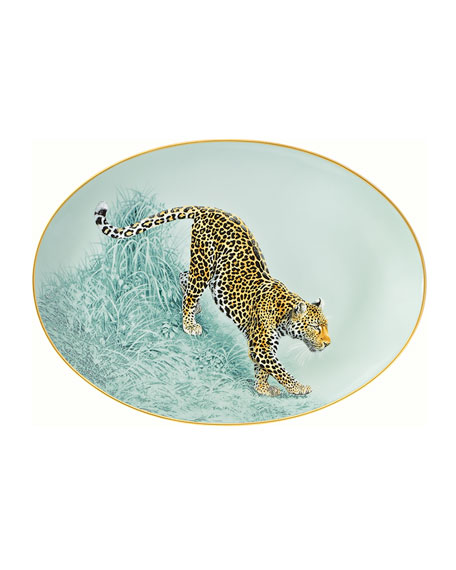 Carnets d'Equateur Small Oval Platter
