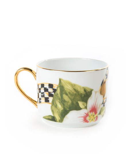 Thistle & Bee Teacup