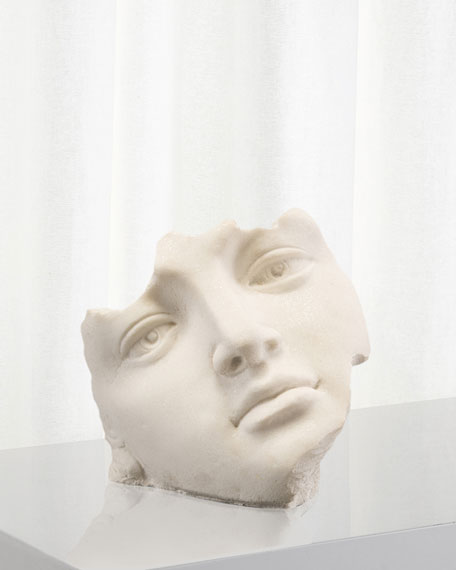 John-Richard Collection Facial Fragment Sculpture
