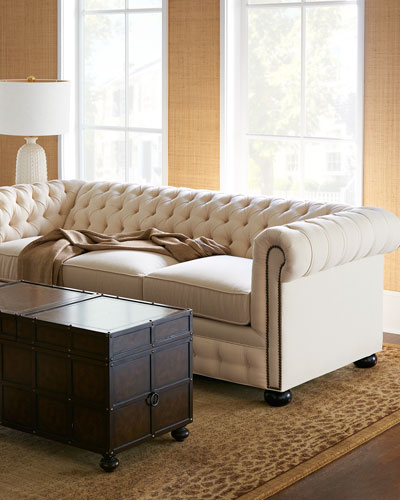 Ellery Chesterfield Queen Sleeper Sofa