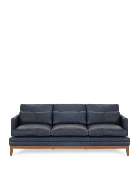 Carlyn Leather Sofa
