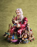 Image 2 of 4: Santa's Musical Workshop Figurine