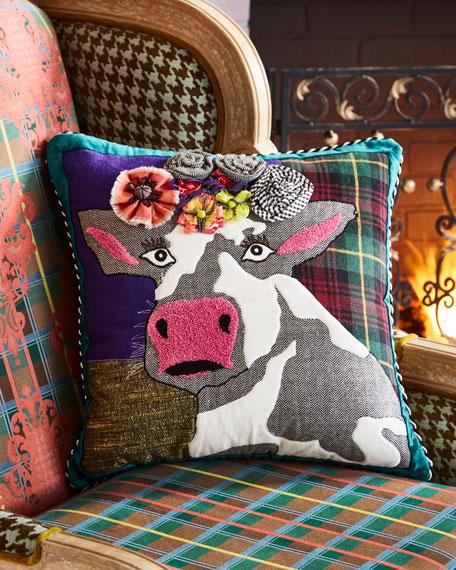 MacKenzie-Childs Frida Cowlo Pillow