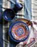 Puro Dappled Cobalt Cereal/Ice Cream Bowl