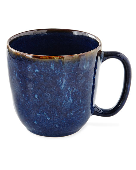 Juliska Puro Dappled Cobalt Cofftea Cup