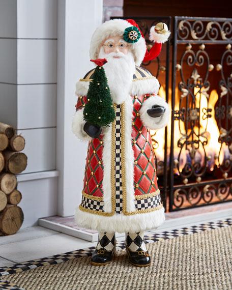 Mackenzie Childs Tall Highland Santa 32 Quot Neiman Marcus