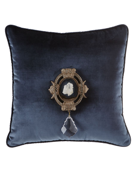 6009 Parker Joule Paris Quartz Medallion Pillow