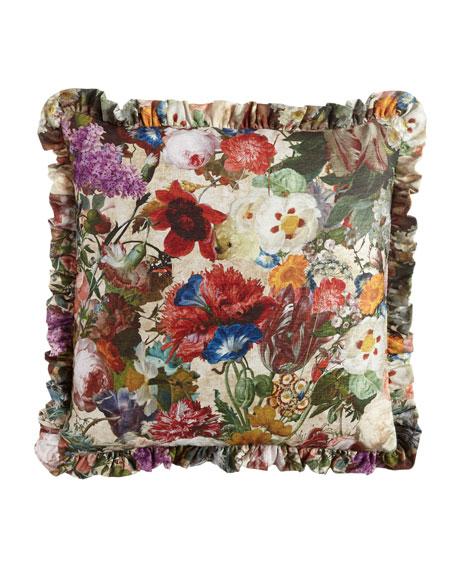 Sherry Kline Home European Laila Floral Sham