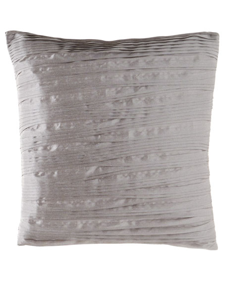 "Austin Horn Collection Prestige Pleated Pillow, 18""Sq."