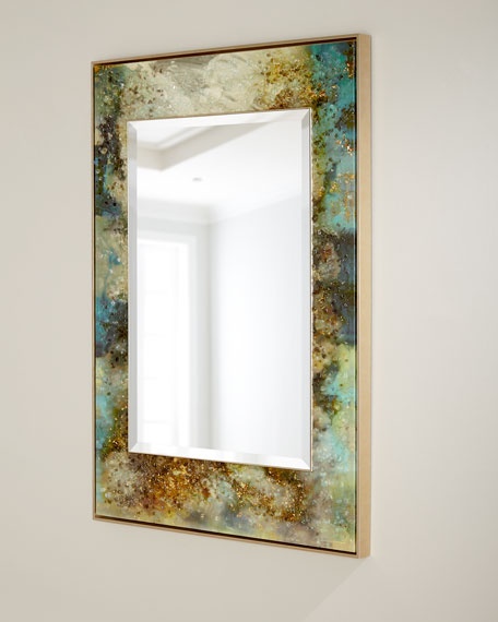 "John-Richard Collection Mary Hong's ""Galactic"" Mirror Wall Art"
