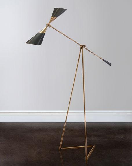 John-Richard Collection Mid-Century Floor Lamp